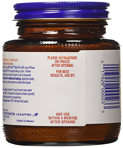 Red Star Bread Machine Yeast, 4-Ounce Jars (Pack of 3) by Red Star (Image #3)