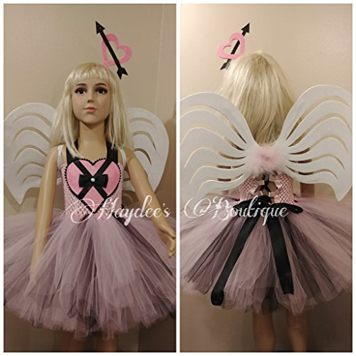 Cupid Girl Tutu Dress Set by Haydee's Boutique