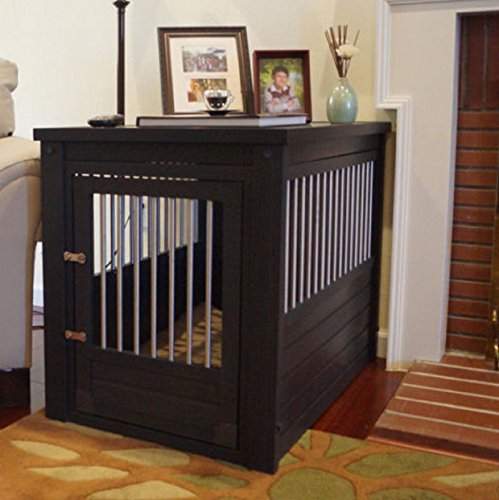 Hot Sale! X Large Pet Crate Cage End Table Dog House Home Indoor Gate Living Room