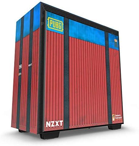 NZXT H700 - Caja PC Gaming de tamaño Mediano ATX - Panel de Vidrio Templado - Sistema de gestión de Cables Mejorado - Preparado para refrigeración líquida – Edición PUBG: Amazon.es: Informática