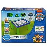 Nickelodeon 42538 Patrol Code Paw Stamp N' Sketch Play Table Magnetic
