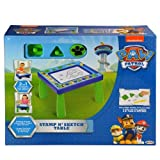 Nickelodeon Patrol Code Paw Stamp N' Sketch Play Table Magnetic