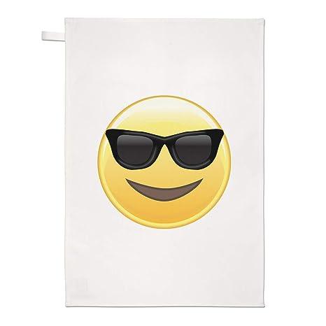 Gift Base Gafas de Sol Emoji Paño Cocina Paño para Platos ...