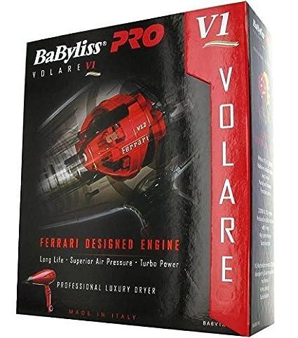 BABYLISS Pro Volare V1 - Secador de pelo rojo 2200 W babv1re de vorführ dispositivo: Amazon.es: Salud y cuidado personal
