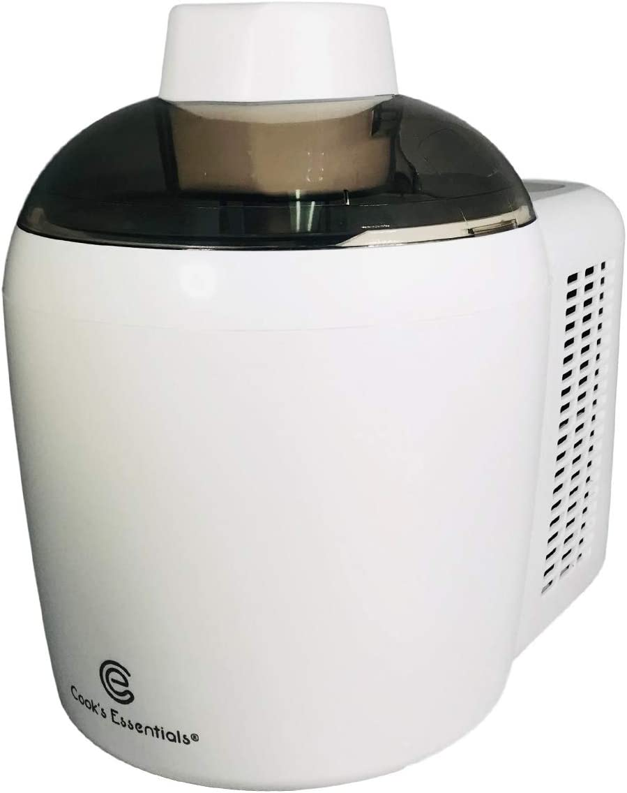 Cooks Essentials Ice Cream Maker Powerful 90W Motor Thermo Electric Self-Freezing System K45559202000 Renewed