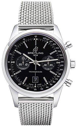 Breitling Transocean Chronograph 38 A4131012/BC06-171A - 51SLQpaXGLL - Breitling Transocean Chronograph 38 A4131012/BC06-171A