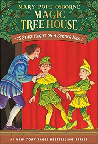 Amazon com: Stage Fright on a Summer Night (Magic Tree House #25
