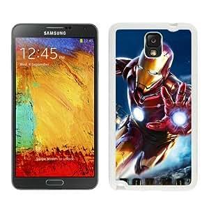 Iron man Case For Samsung Galaxy Note 3 White