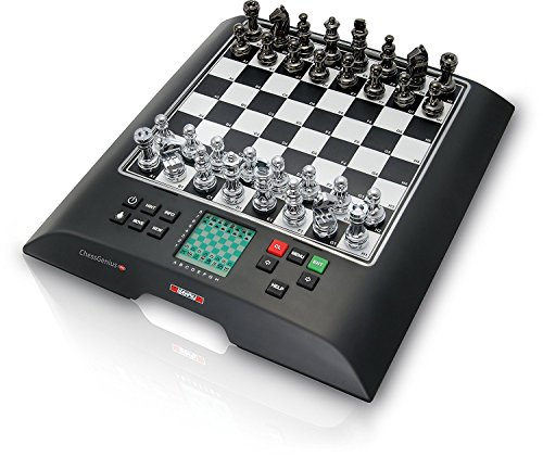 Millennium ChessGenius Pro, Model M812 - Grandmaster Electronic Chess Computer (Best Chess Computer Game)