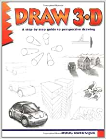 How to draw a 3d book