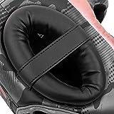 Venum Elite Headgear - Black/Pink Gold