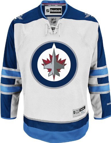NHL Winnipeg Jets Team Premier Jersey, White, Small