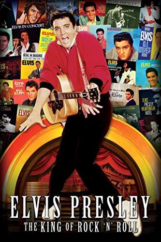 - Elvis Albums Poster 24 x 36in