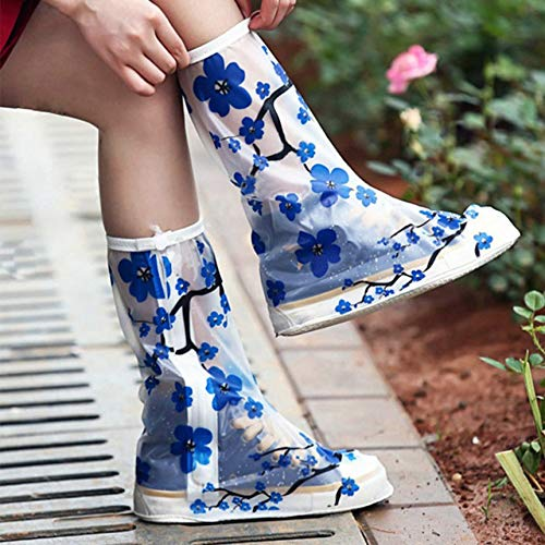 - Shoes Cover Waterproof Reusable Rain Shoes Covers Rubber Slip-Resistant Rain Boot Overshoes Men Women Shoes Accessories