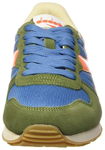 Verde Scarpe Olivina Basse verde Unisex Sportive adulto blu Camaro Divino Diadora Txqp77