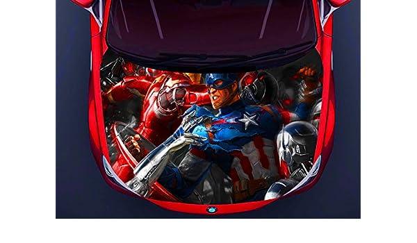 Car Hood Side Window Full Color Graphics Vinyl Sticker Spider-Man Decal