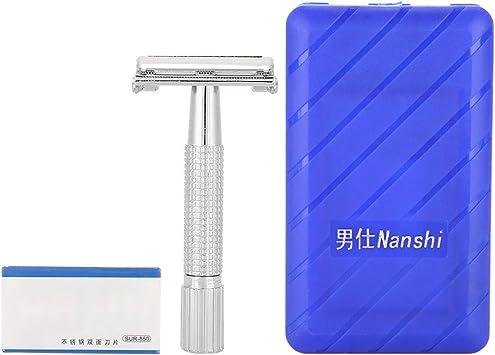 Maquinilla de Afeitar Manual Para Hombre Con Estuche, Afeitadora ...