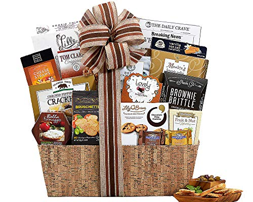 Wine Country Gift Baskets Sympathy Basket Heartfelt Thoughts Our Sincere Condolences Thinking Of You In Times Of Sorrow Bereavement Grief Elegant Gourmet Food Gift Basket (Best Gourmet Food Gift Baskets)