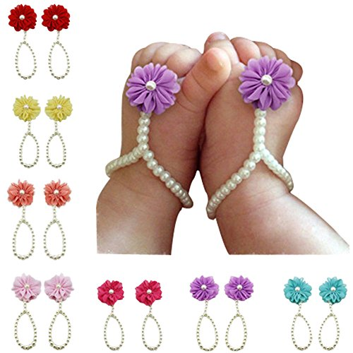 duophy-7-pairs-baby-girls-pearl-barefoot-foot-flower-beach-sandals