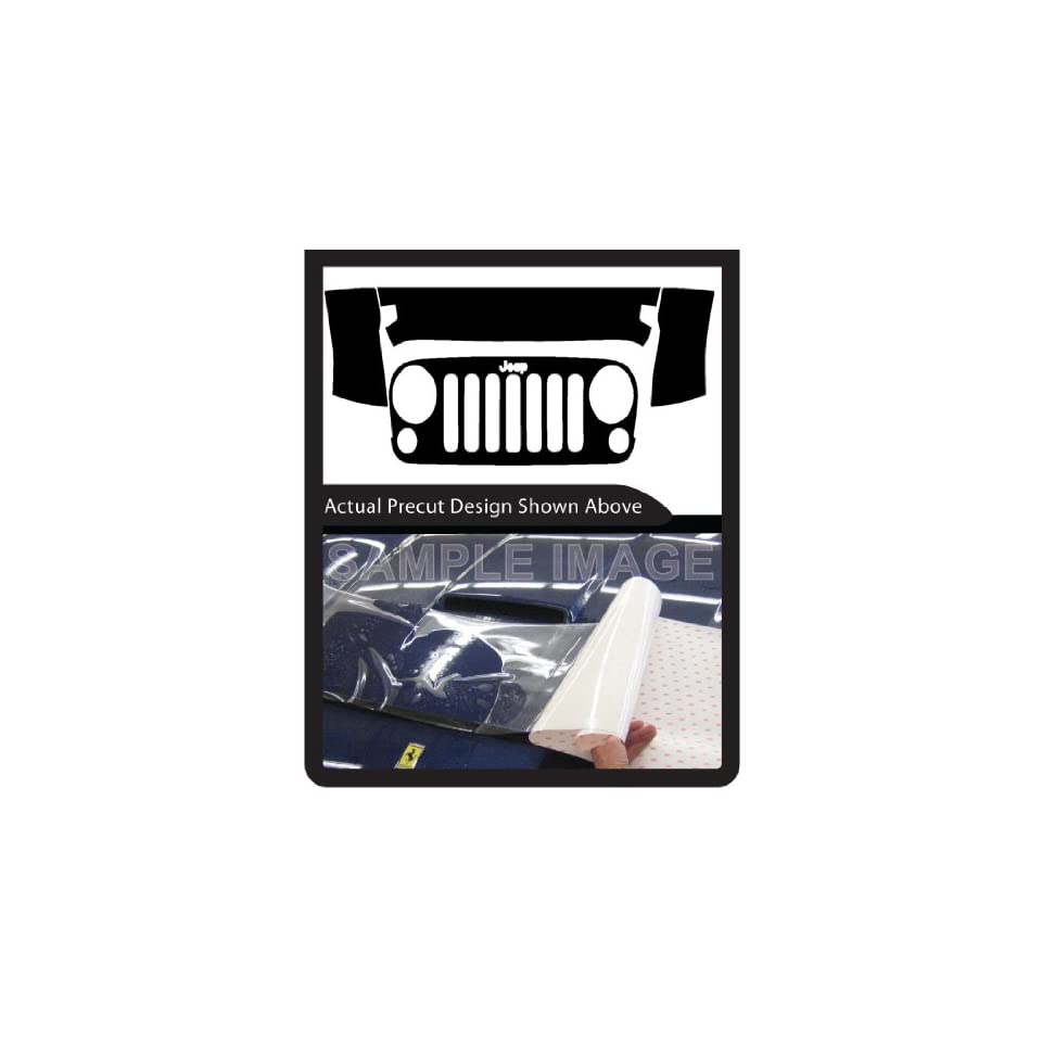 Jeep Wrangler Unlimited Sport (2010 2012) 3M Clear Bra Paint Protection Film Kit