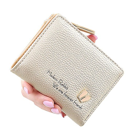 Cheryl Bull Fashion Women's Cute Bunny Ears Wallet Cash Cards Holder Pocket Short Purse Gold by Cheryl Bull Wallets
