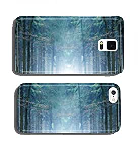 Mystical Forest in fog cell phone cover case Samsung S3