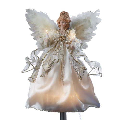 Kurt Adler Illuminated Angel Treetop (Kurt Adler Angel Tree Topper)