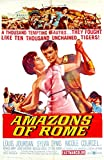 Amazons Of Rome Movie Poster! Orig Sword & Sandal Peplum-gladiator Film 1sht!   amazon.com