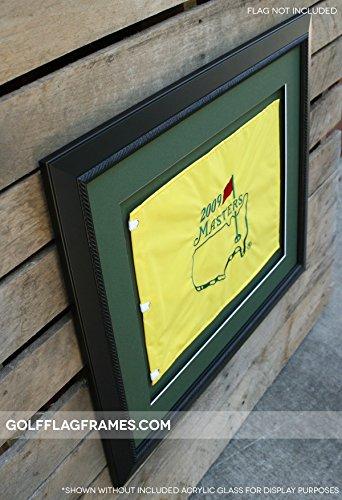 Golf Flag Frames 20x24 Black Moulding Blk 002 Green Mats