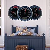 Speedometer Speedo Garage color Wall Stickers Transport Art Decals Decor available in 8 Sizes XX-Large Digital