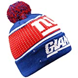 Forever Collectibles NFL New York Giants Big Logo Knit Light Up Beanie Hat