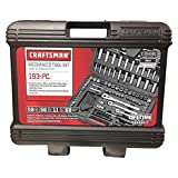 CRAFTSMAN Mechanics Tool Kit, 1/4-Inch Drive, 193 Pieces (939484)