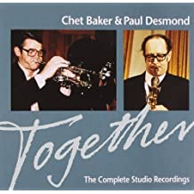 Together: Complete Studio Recordings by CHET / DESMOND,PAUL BAKER (2008-05-16)