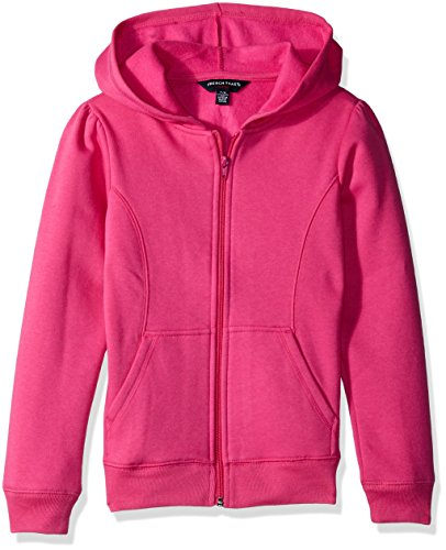 French Toast Little Girls' Knit Jacket, Rose Violet, 5