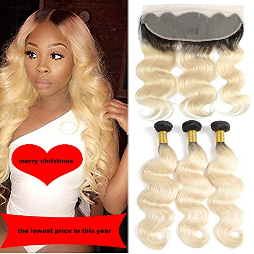 Ombre-1b-613-Blonde-Hair-Bundles-with-Lace-Forntal-Body-Wave-Dark-Roots-Blonde-10A-Grade-Brazilian-Remy-Hair-with-Ear-to-Ear-Frontal-Ombre-2-Tone-1b-613-Blonde-Hair-16-18-20-16-1b-613