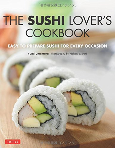Sushi Lovers Cookbook Prepare Occasion product image
