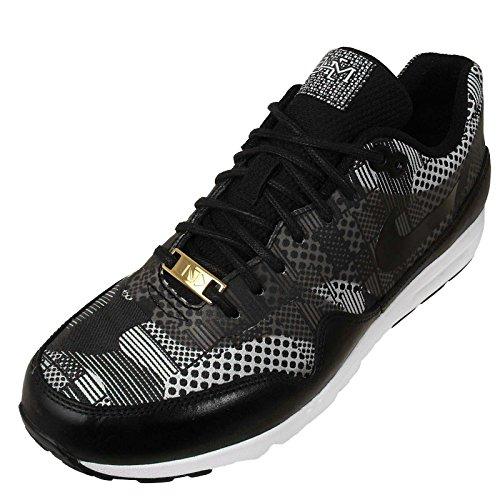 Nike Kvinders Wmns Air Max 1 Ultra Bhm Qs, Bhm-sort / Sort-hvid-metallisk Sølv, 9,5 Os