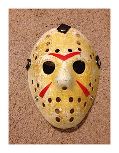 Yal Boutique Friday The 13TH Hockey MASK Halloween Jason vs Freddy Costume -