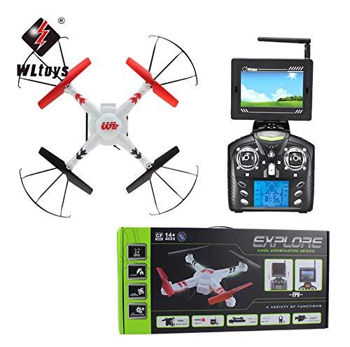 Drohne mit FPV-Kamera WLTOYS V686G   2MP-Kamera mit 4,3-Zoll-Videosender   -monitor mit 5,8G-Empfänger   All-Inclusive-Komplettgerät   6-Achs- und Gyro-System Headless   Idealer Anfänger   Drohnen FPV