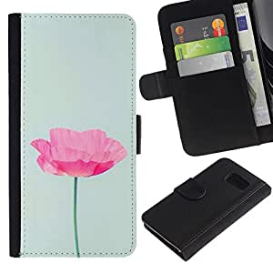 TaiTech / - Poppy Sun Flower Primavera Naturaleza - Samsung Galaxy S6