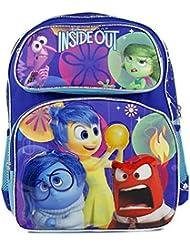 Disney Pixar Inside Out Rileys Emotion Kids 14 School Backpack Bag