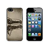 Liili Premium Apple iPhone 5 iphone 5S Aluminum Backplate Bumper Snap Case IMAGE ID 30986462 military boots on aged background retro effect applied on them offers