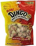 Dingo Rawhide Mini Bones, 35-Count Value Bag