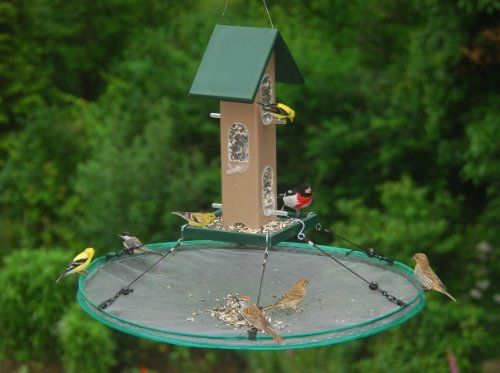 Songbird Essentials 30 in Universal Seed Hoop for Bird Feeders