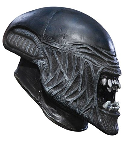 Alien And The Predator Movie Vinyl Horror Latex Child Halloween Costume Mask (Alien Child Mask)