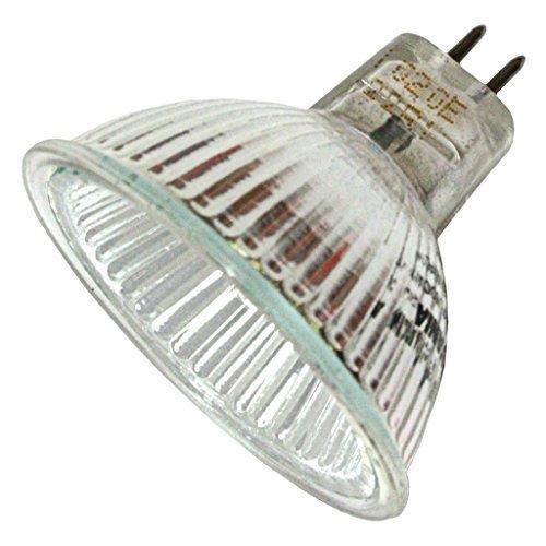 SYLVANIA 58328-50 Watt Halogen Light Bulb - MR16 - Tru-Aim - FNV Wide Flood - Glass Face - 2,000 Life Hours - 12 Volt