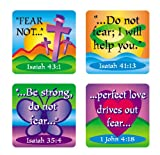 Fear Not Verses Stickers (Scripture Stickers)