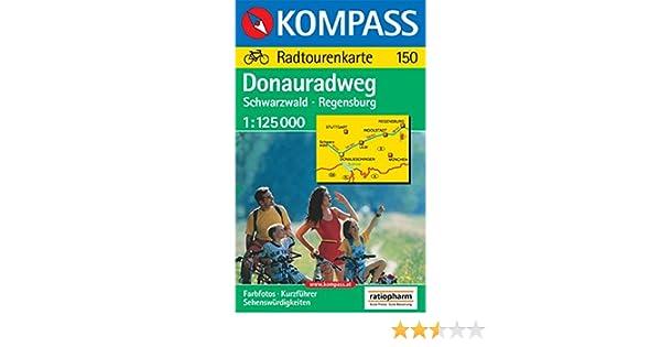 150 Danubio en bicicleta: Selva Negra-ratisbona 1:125.000 VELO - 1 ...