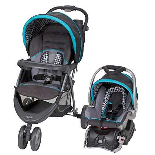 Baby Trend EZ Ride 5 Travel System, Hounds Tooth by Baby Trend