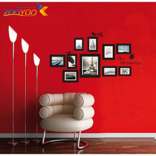 Cheap  FunnyPicker Photo Frame Wall Decals 2016 New Design Removable Xl Memories Photo..